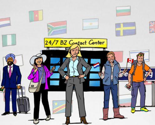 Ministerie BZ Animatie Consulaire dienstverlening